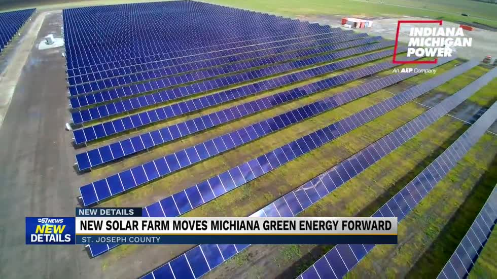Officials 'flip the switch' on new St. Joseph Solar Farm